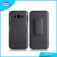Factory supply back cover case with back clip for samsung galaxy a8
