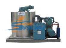 Famouse compressor 8 ton per day flake ice machine
