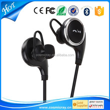 2016 Fashionable Stereo Bluetooth Oem Micro Bluetooth Headphone, Wholesale Accessories Mobile earphone earhook