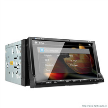 Bulti-in bluetooth jeep grand cherokee 2 din car dvd player