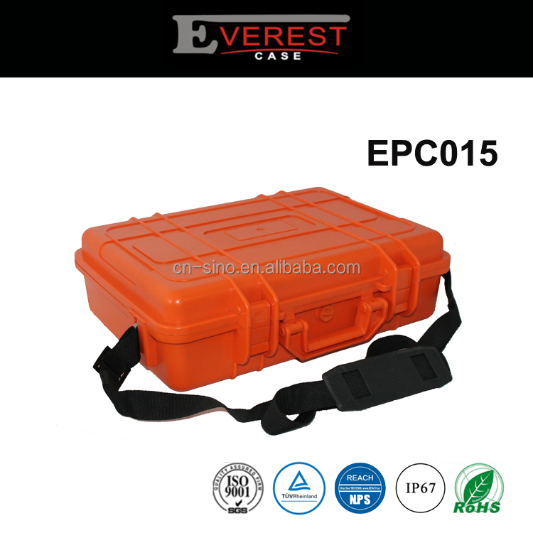 Hard Plastic Equipment Case with Foam Insert