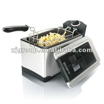 3.5 liter stainless steel electric deep fryer