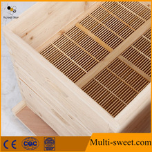 Top quality pine wood honey beehive for beekeeping from the biggest bee industry zone of Chinese