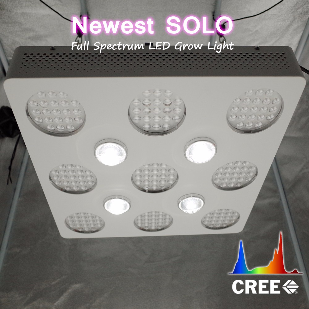 Best selling products 2017 in US solo 600 led grow light with cob cxb3590
