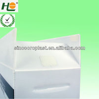 plastic pp hollow sheet Pesticide packing correx box