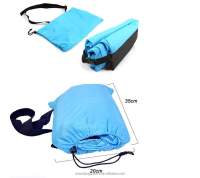 inflatable air sleeping bag travelling camping laybag inflatable sofa,banana sleeping bag