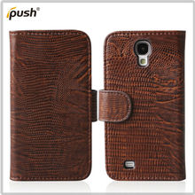lizard Style wallet PU Case leather Pouch For Samsung Galaxy S4 I9500
