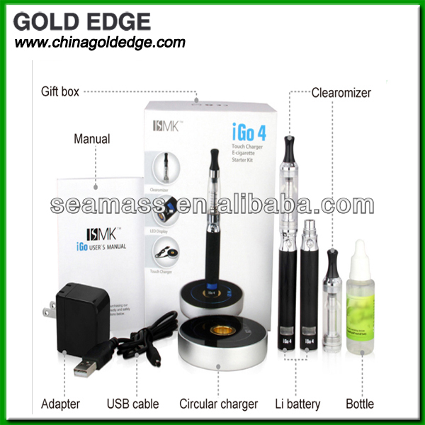 Touch Charge E-cigarette igo4 LCD display