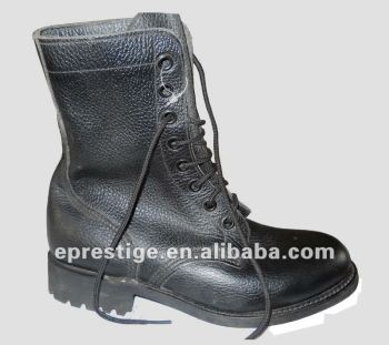 goodyear welt leather military boots