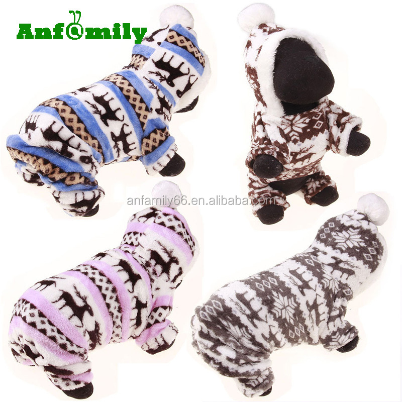 Autumn Stylish Pet Dog Warm Clothes Puppy Jumpsuit Hoodie Coat Doggy Apparel Hoodies Costume Apparel