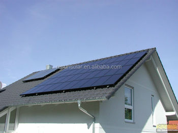 10-Year product warranty high efficieny 2KW off-grid solar power system with TUV ISO EC