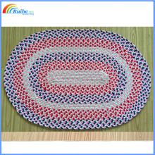 hot sale custom braided rug, area rug