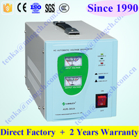 Single Phase Relay Type AVR, SVR 1000va voltage stabilizer, refrigerator voltage stabilizer