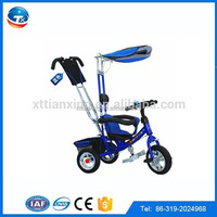 Hot sale chaep beautiful Baby walker Trike custom tricycle for kids ,strong kids tricycles for Children with trailer/roof/