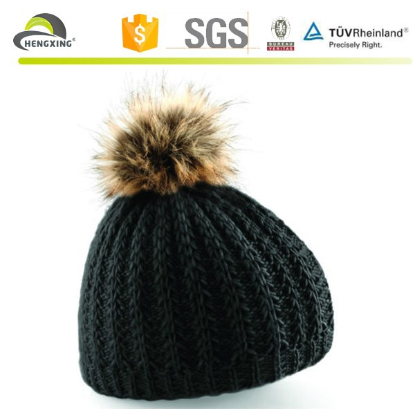 Black beanie hats with a ball,make your own beanie hat with top ball