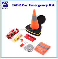 2017 Top Hot car first aid kit for vehicles/Road assistant kit, emergency survival kit/car emergency