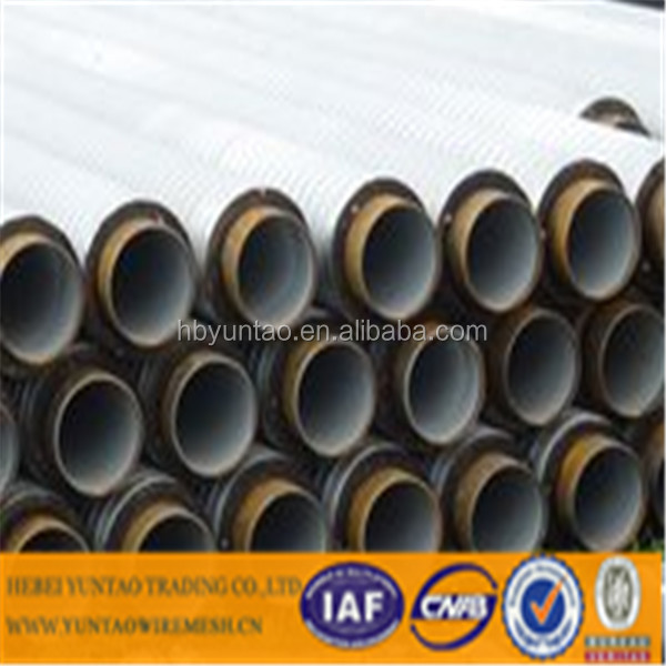 Direct buried thermal insulation polyurethane foam pipe by Chinese supplier Hebei Yuntao Trading Company