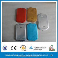 New Item For Airline Serving With Color Printing Aluminum Foil Lid