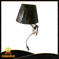 High quality products Fabric led light flexible gooseneck wall lamp