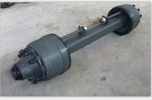 Axle Manufacturer American Trailer Axle Capacity 15T For Semi Trailer