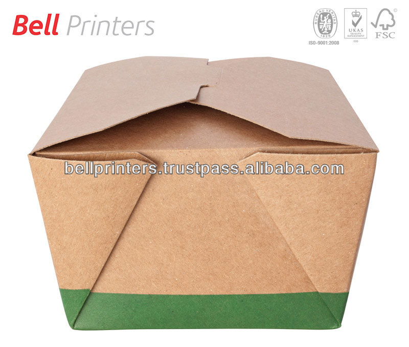 Take away food packaging box from Indian supplier