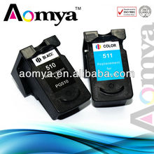 Aomya PG 510 CL 511 Remanufactured Ink Cartridge for canon mp280 cartridges