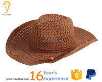 cheap cowboy hats paper straw hats