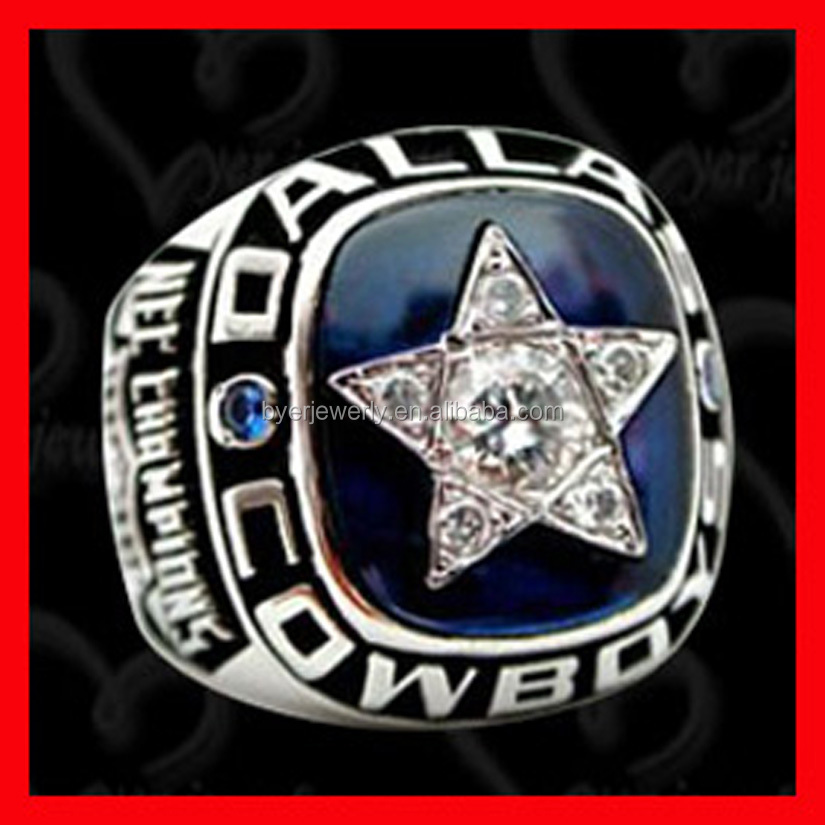 1977 Super bowel cheap custom wholesale fashion brass dallas cowboys rings