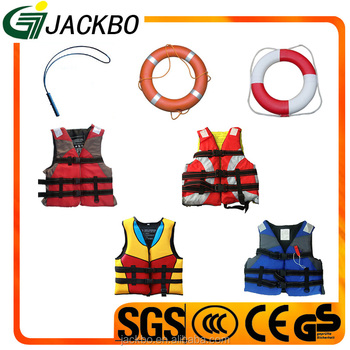 Diving cloth material high quality swimming pool life jacket with lower price