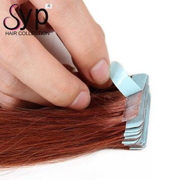 Tape In Hair Extension Wholesale Cheap Invisible Human Virgin Raw Skin Weft Free Shipping No Tangle 100g/40pieces