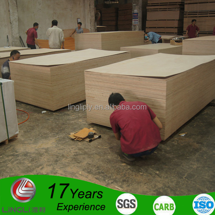 Plywood Standard India furniture grade 4x8 20mm waterproof plywood for cabinet