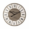 Professional design antique style wood metal wedding gift wall clock