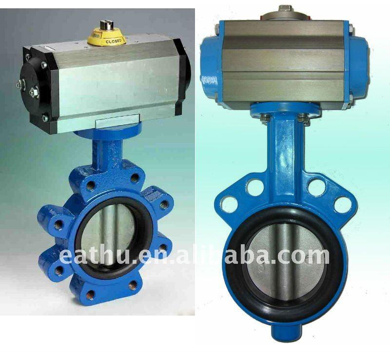 butterfly industrial valves for petroleum industry