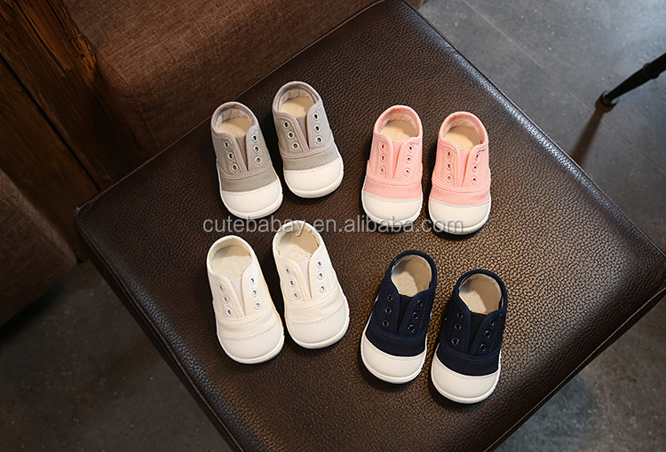 Factory Sale Directly Canvas Baby Shoes
