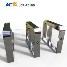 High speed safety pedestrian flap barrier gate