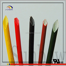 Electric Wire tube Silicone Rubber Coated Fiberglass Sleeves