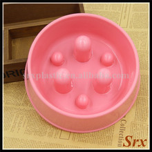 Portion Control Dog Cat Pet Feeder Meal Tray Water insulated Food Bowl Manufacturer/OEM safe PP food storage Plastic pet bowl