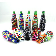 330ml neoprene zipper beer bottle cover