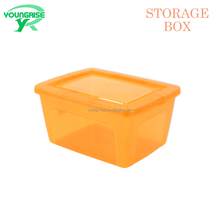 Small Medium Large Plastic Clear Storage Food Box Container With Lid