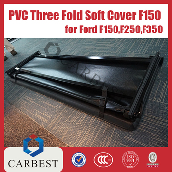High Quality PVC Three Fold Soft Cover FOR FORD F150 F250 F350