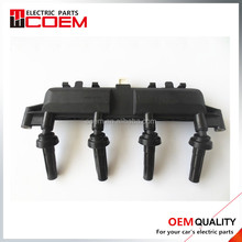 Ignition Coil pack 597079 597078 96358649 2526208a 0986221035 597078 596319 for Peugeot 206 207 Citroen