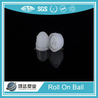 19.05mm plastic roll on deo packaging roller ball