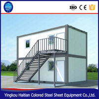 High Quality 20FT flat pack container house prefab house designs for kenya