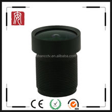 "3.18mm 1/2.5"" high resolution m12 F2.0 security camera Wide angle lens for drivers pc camera"
