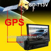 Cheap 7inch one din car dvd player with USB SD