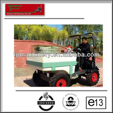 High quality kubota engine plus chassis standrad cheap garden tractor