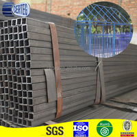 square steel tubing oiled /stainless steel tubing/lightweight steel tubing with plastic bags