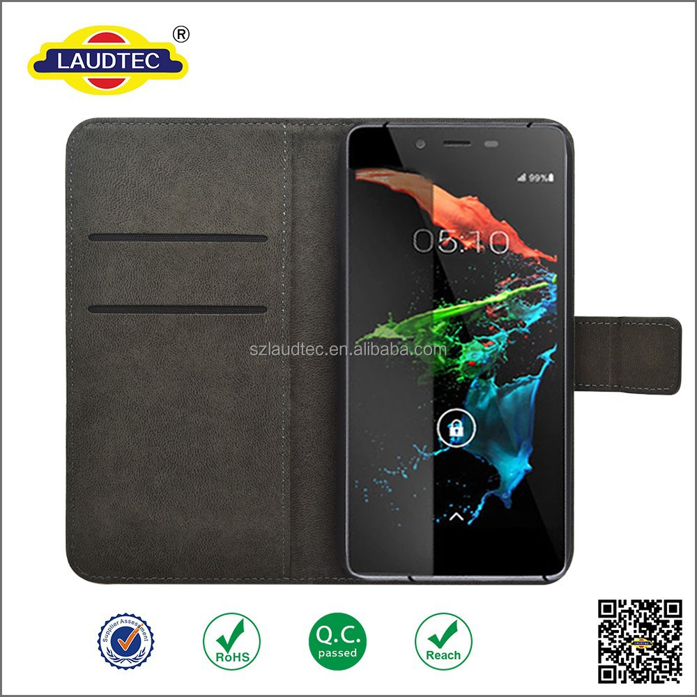 magnet leather case for Micromax Canvas sliver 5 ,pc tpu mobile phone wallet leather Case fo Micromax Canvas sliver 5