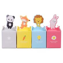 Hot selling eco-friendly custom animal shape paper gift box