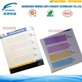 Guangzhou high security screen printing sunlight reactive ink